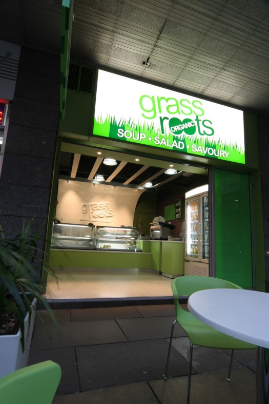 Interior Design - Grass Roots Food