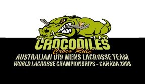 Illustration - Team and Promotional Graphics - Australian Men's Under 19 Lacrosse Team