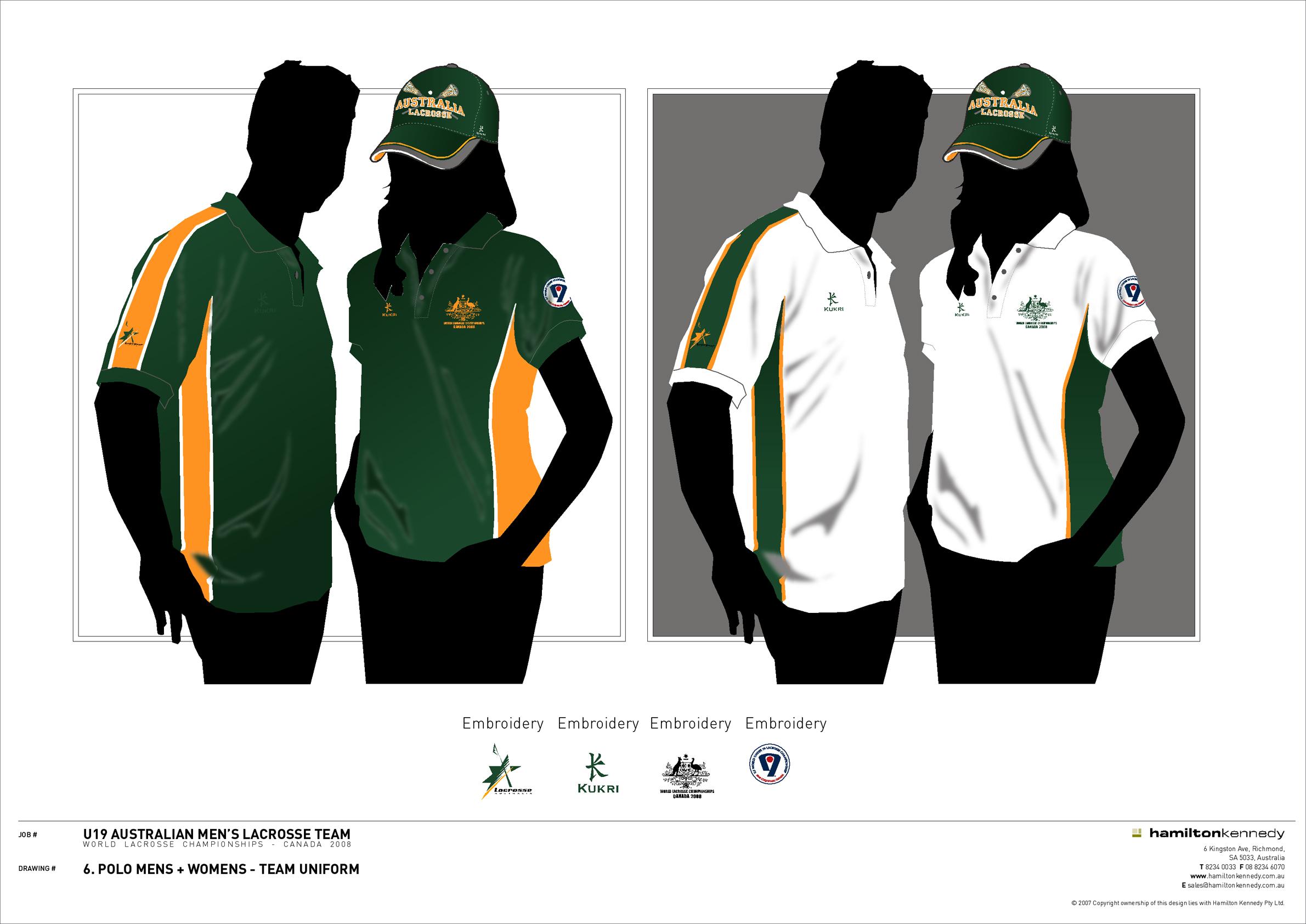 Design t shirt uniform - 6 Polo_team