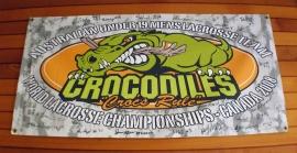 Banner-Lacrosse team Australian mens
