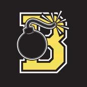 BOMBERS-B-2 Lacrosse Club Emblem