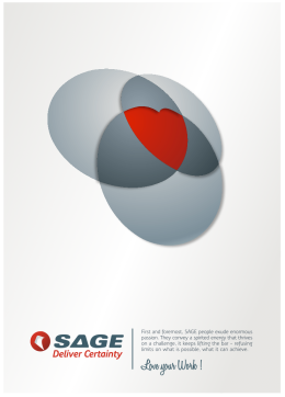 "Graphic - SAGE - corporate ""in-house"" team building poster"