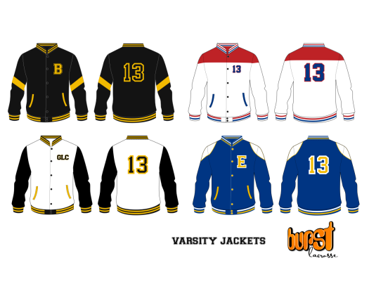 New Release Club Jackets