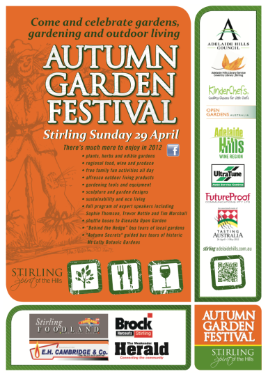 Garden festival poster 2012