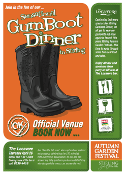 Stirling GumBoot Dinner 03