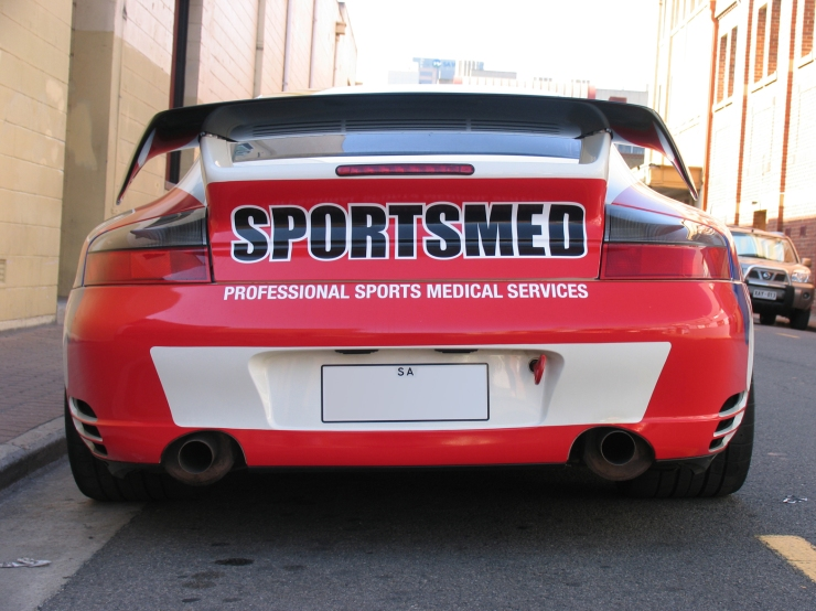 Sportsmed Porsche - rear