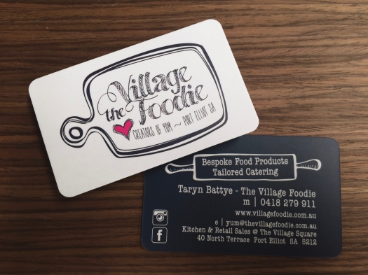 The Village Foodie - Business Card
