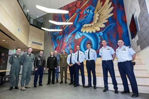 RAAF Mural - Sept 2018